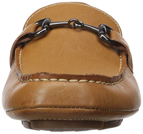 Perry Ellis Men's Nick Driving Style Loafer Beige S8BL9