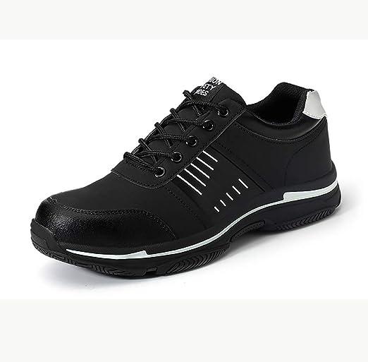 zapatos de seguridad Martillo negro Botas de seguridad para hombre ...