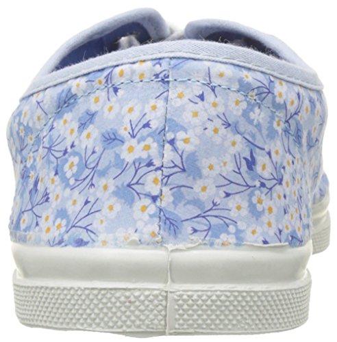 Blu Liberty bleu Lacets Sneaker Donna Bensimon Tennis aqxSXEwWnO