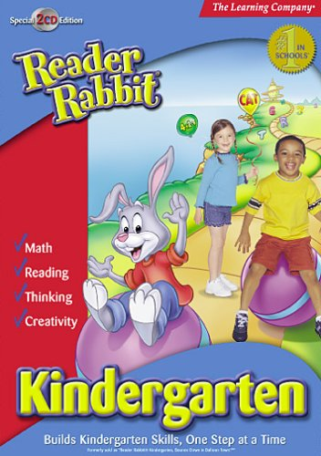 Reader Rabbit Kindergarten Version 1.1 by The Learning Company
