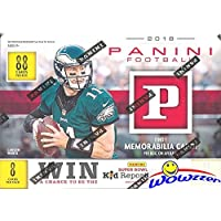 2018 Panini NFL Football EXCLUSIVE HUGE Factory Sealed Blaster Box with MEMORABILIA Card!… photo
