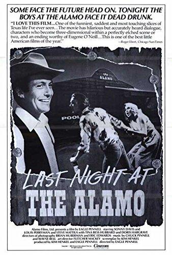 Last Night at the Alamo POSTER (27