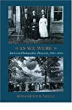 As We Were, 1905-1930, Rosamond B. Vaule and Rosamond Vaule, 1567922503
