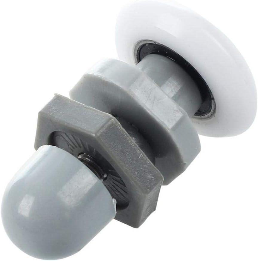 Starnearby Rodillos para puerta de ducha (10 unidades, 25 mm de ...