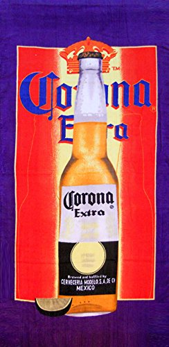 CORONA BEACH Beach Towel - - - Corona Mexican beer