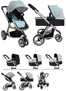 Star Ibaby Go Baby UP - Cochecito de bebe con silla, capazo y burbuja de