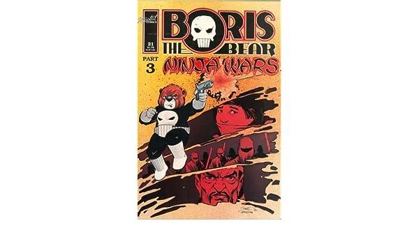 Boris the Bear, No. 21: Ninja Wars, Part 3; Feb. 1989: James ...