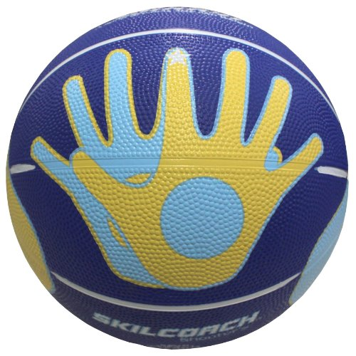 Baden SkilCoach Official Shooter's Rubber Basketball, 27.5-I