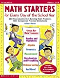 Math Starters for Every Day of the School Year, Scholastic, Inc. Staff and Karen Mancuso, 0439317533