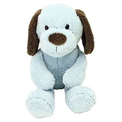 Animal Adventure - PUPPY DOG PLUSH Blue Brown - Blue Puppy Plush