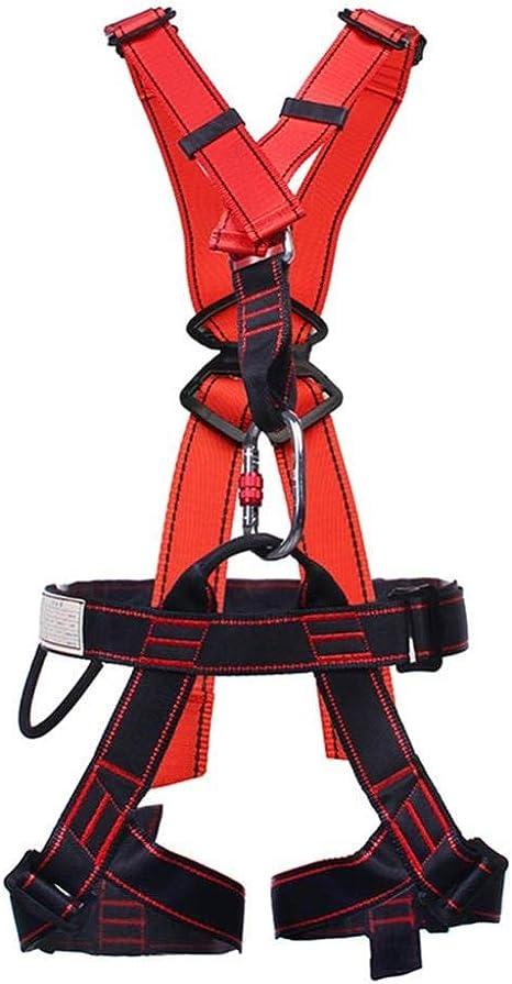 YXLONG Arnés De Escalada De Cuerpo Completo Cintura Protección De ...