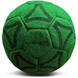 Uber Soccer Indoor Felt Ball - Neon Green - Size 4