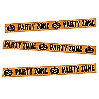 "FX/OT 1 Roll ~ Halloween Party Zone Tape / Streamer ~ Plastic ~ 3"" x 20 ft. ~ New"