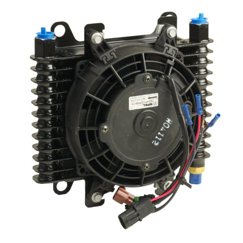 B&M 70298 Hi-Tek SuperCooler Oil Cooler with Fan by B&M