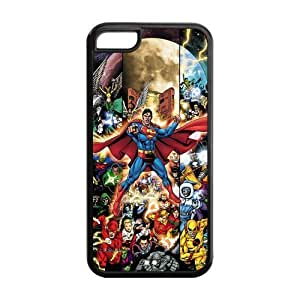 Iphone 5c Case - DC Comics Superman Characters Collection Silicone iPhone 5c Cover by ruishername