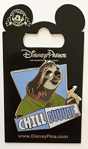 Disney Pin 119862 Chill Duuude - Zootopia - Flash the Sloth Pin]()
