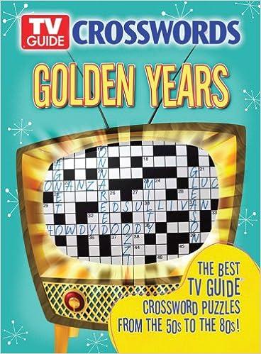 TV Guide Crosswords Golden Years: The Best TV Guide