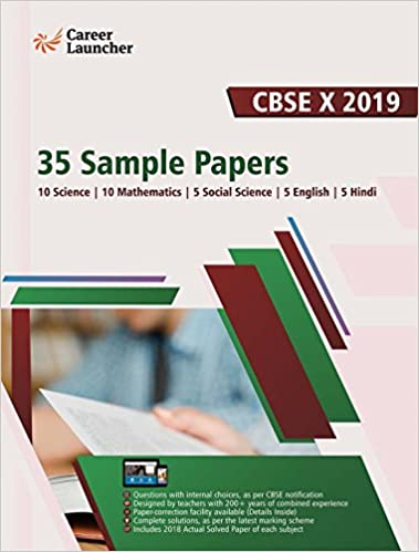 CBSE Class X 2019 - 35 Sample Papers: Amazon in: Career Launcher: Books