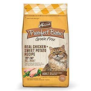 Merrick Purrfect Bistro Grain Free Real Chicken Adult Dry Cat Food, 12 Lbs. 65
