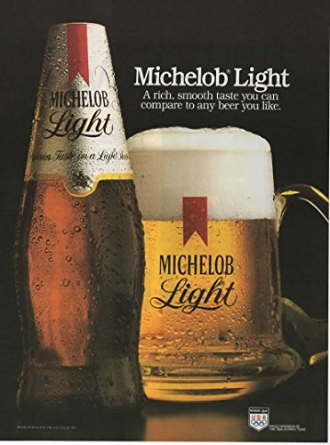 Magazine Print Ad: 1983 Michelob Beer,A Rich, Smooth Taste You Can Compare to Any Beer You Like