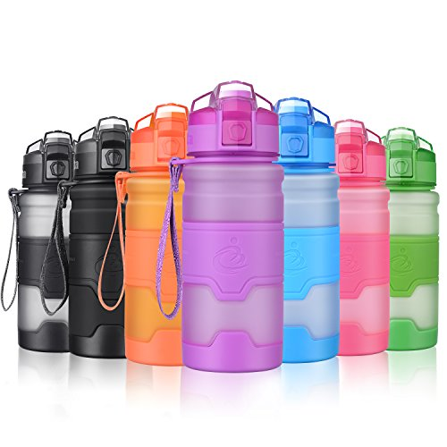 Grsta Sport Water Bottle, 400ml/14oz - Bpa Free Eco-Friendly Tritan...