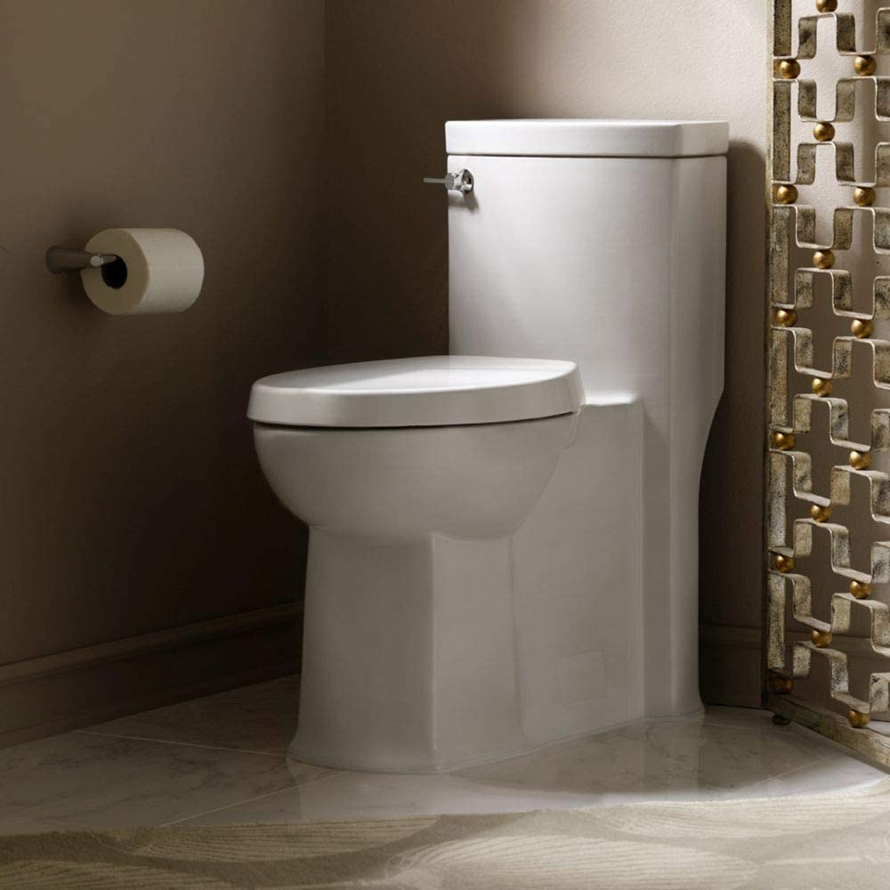 American Standard 2891.128.020 Boulevard RH Elongated One Piece Flowise Toilet, White