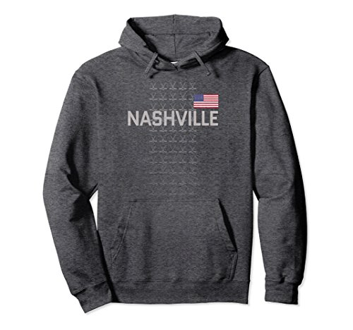 fan products of Unisex Nashville Hockey Hoodie Top Fan Clothing Adult Teens USA XL: Dark Heather