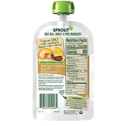 Review Sprout Organic Stage 2