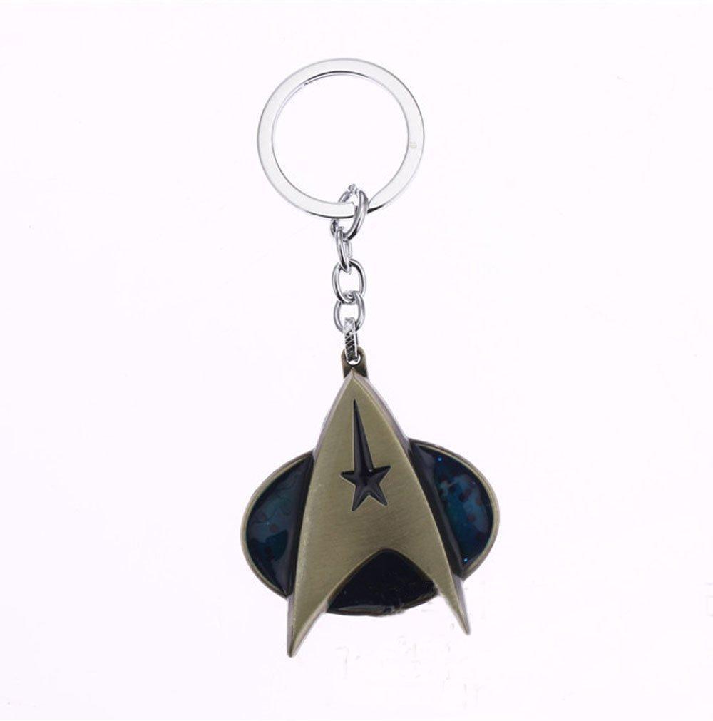 Nueva llegada Star Trek Logo Llavero de aleación colgante ...