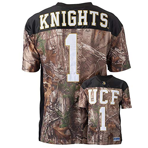 Youth Realtree Xtra Camouflage College Football Game Day Jersey, UCF, M (Camoflauge Nfl)