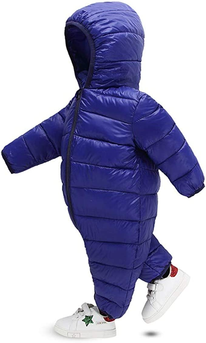 Vovotrade Toddler Baby Boys Girls Knitted Warm Jacket Coat Faux Fur Hooded Tops Hoodie