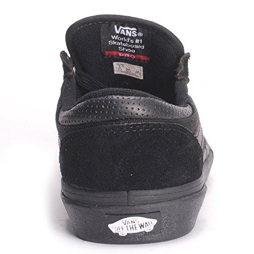 Vans Mens Gilbert Crockett Chaussure De Skate Noir / Noir / Auburn