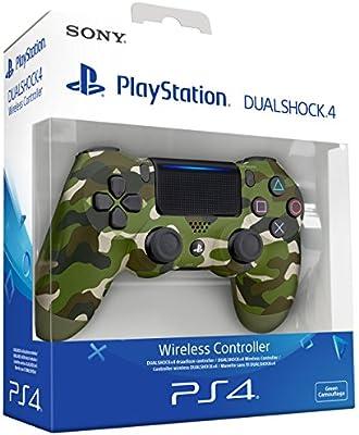 Sony - Dualshock 4 V2 Mando Inalámbrico, Color Verde Camuflaje (PS4): Sony: Amazon.es: Videojuegos