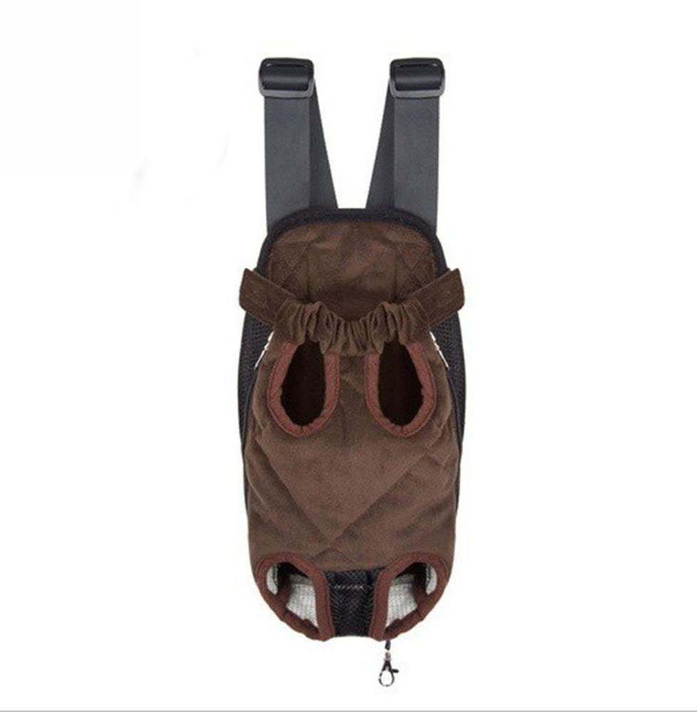 B 2818cm B 2818cm Dixinla Pet Carrier Backpack Chest bag for the outside of the door with portable shoulder bag.