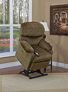 52 Series Petite Wall-a-Way Reclining Lift Chair Fabric: Vista - Earth