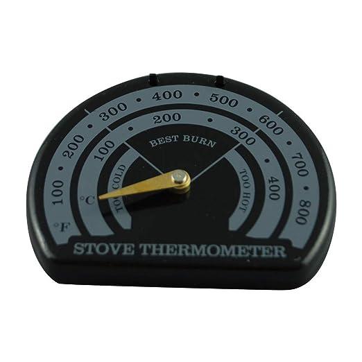 FIEMACH Termómetro para Chimenea de Fiemah, termómetro magnético ...