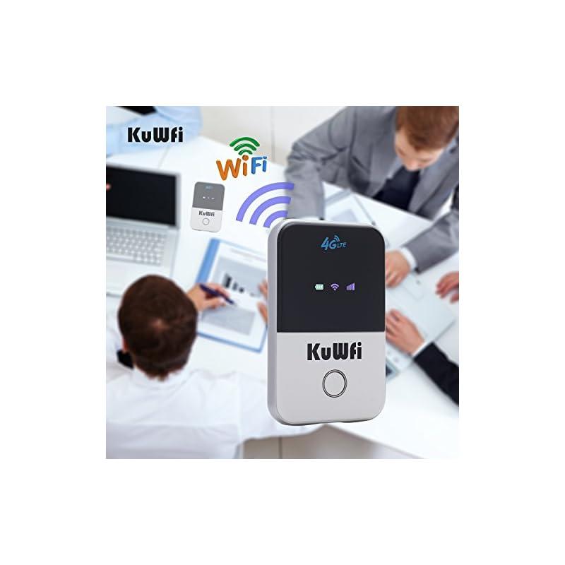KuWFi 4G WiFi Router Unlocked Travel Par