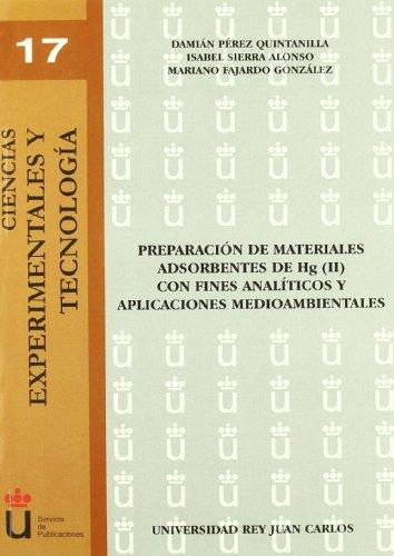 Preparacion De Materiales Adsorbentes De Hg (Ii) C (Spanish Edition) [Varios] (Tapa Blanda)