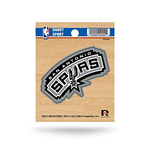 Rico NBA San Antonio Spurs Short Sport Decal - San Antonio Spurs Gear