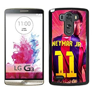 Provide Personalized Customized neymar fc barcelona Black Durable LG G3 Protective Skin Cover Case