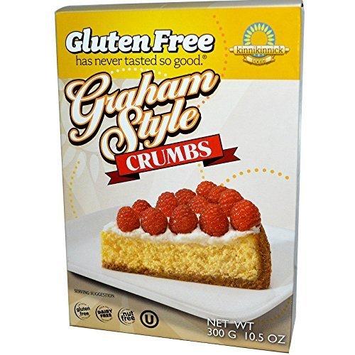 - Kinnikinnick Foods, Graham Style Crumbs, 10.5 oz (300 g) Kinnikinnick Foods, Graham Style Crumbs, 10.5 oz (300 g) - 2pcs