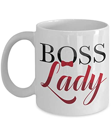 Amazon Com Boss Lady Print Ceramic Coffee Tea Gift Mug