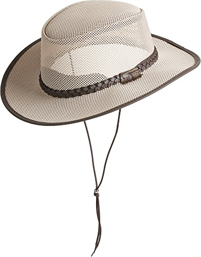 Overland Sheepskin Co Soaker Crushable Mesh Breezer Western Hat