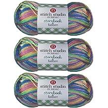 Stitch Studio Yarn by Nicole, Storybook Fanfare (3 Skeins) Carnival