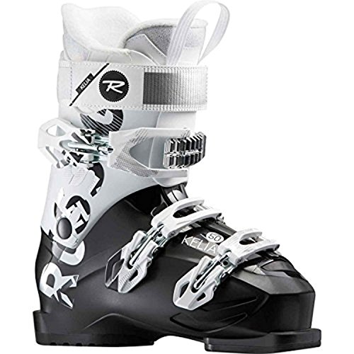 Rossignol Women's Kelia 50 Ski Boots (Black/White, 26.5)