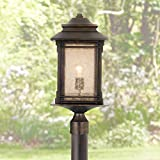 Hickory Point Mission Outdoor Post Light with