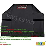 Cheap bbq factory Black BBQ Grill Cover JAX553 Replacement for Weber Genesis E and S 300 Series gas grills