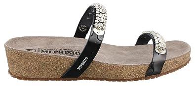 b7bb2739afd4 Amazon.com  Mephisto Women s Ivana Slide Sandal  Shoes
