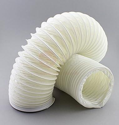 Tubo flexible de PVC flexible de 125 mm de diámetro, 12,5 cm de longitud, 1 m de longitud: Amazon.es: Bricolaje y herramientas