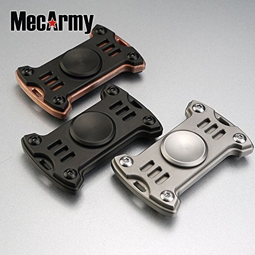 GP1 Titanium Fidget Spinner, Hand Excise, Relieves Stress and Anxiety, MecArmy (black) by MeCarmy (Image #5)
